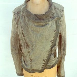 Free People Military Green Jacket